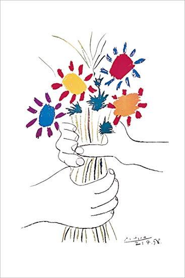 367x550 Petite Fleurs By Pablo Picasso