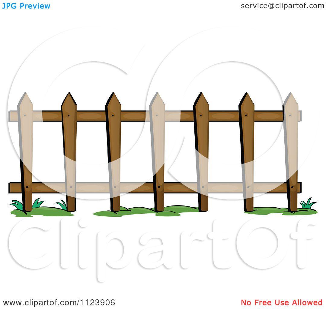 1080x1024 Cartoon Of A Picket Fence 1