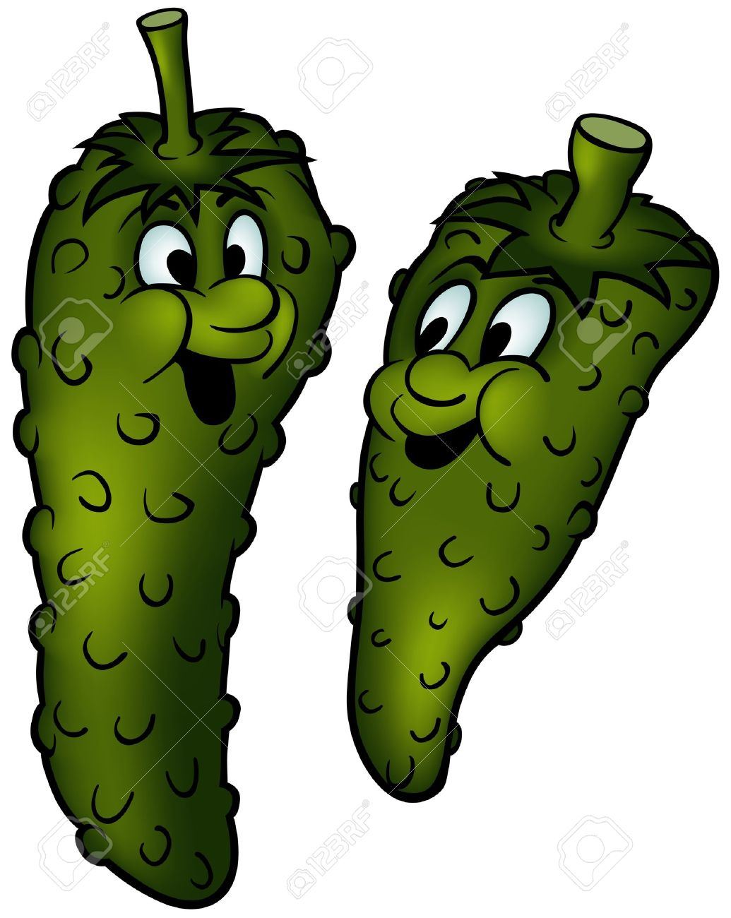 1035x1300 Gherkin Clipart Collection