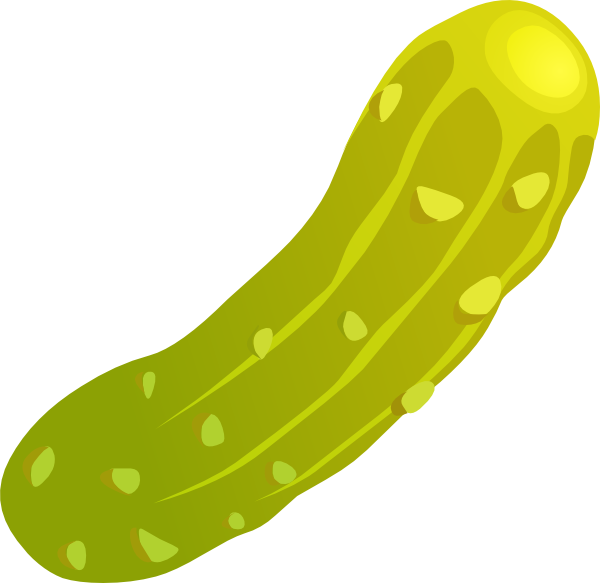 600x583 Pickle Clip Art