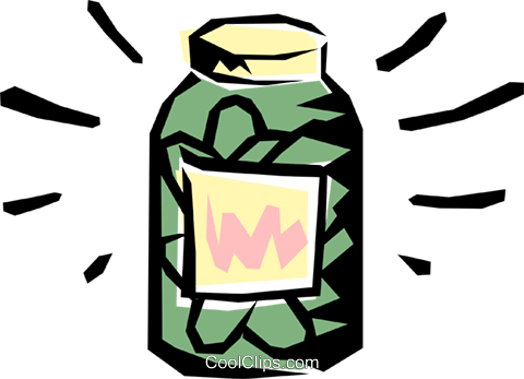 480x347 Pickle Jar Royalty Free Vector Clip Art Illustration Food0063