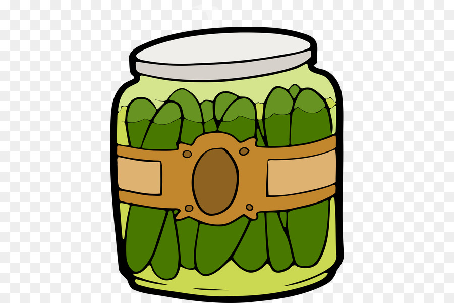 900x600 Clip Art Pickle Jar