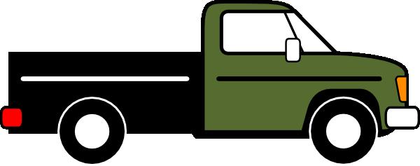600x237 Pickup Truck Clip Art