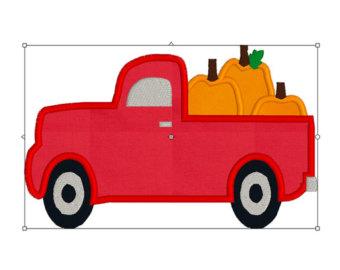 340x270 Vintage Pickup Truck Digital Clip Art Retro From Rhodadesignstudio