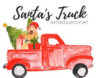 340x270 Watercolor Clip Art Christmas Clip Art Holiday Clip Art
