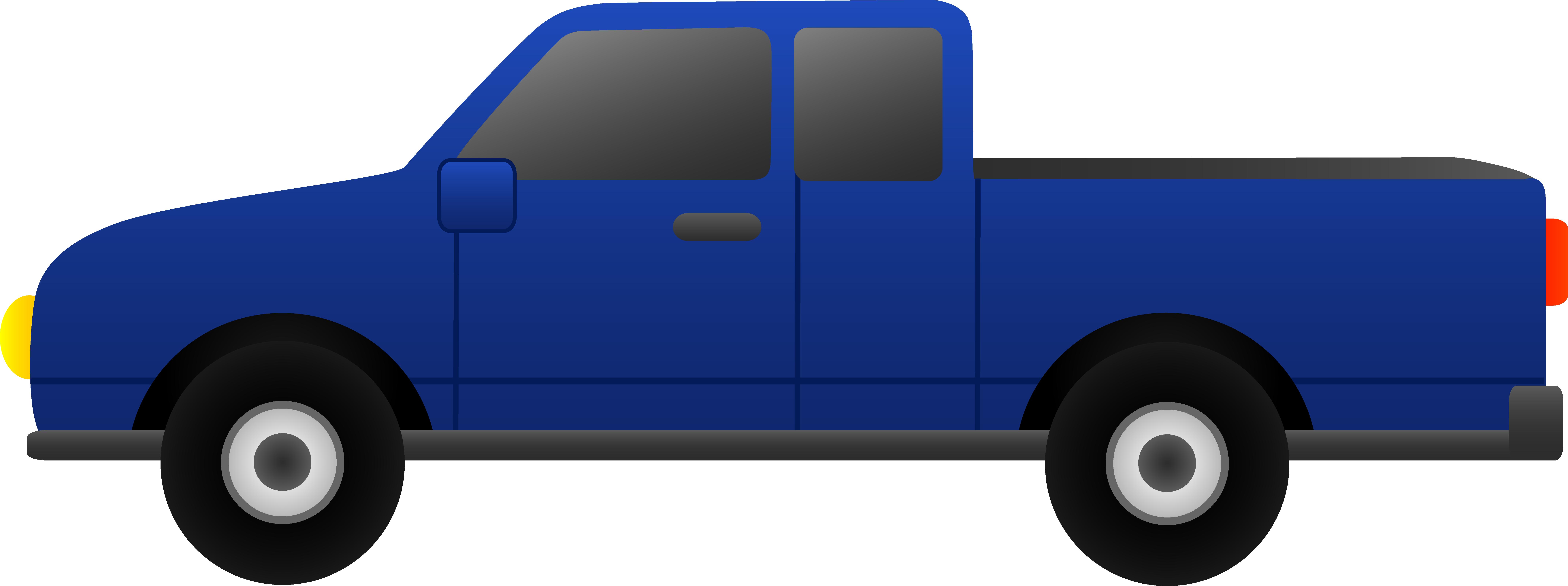 8576x3207 Blue Pickup Truck Clip Art Clipart Panda