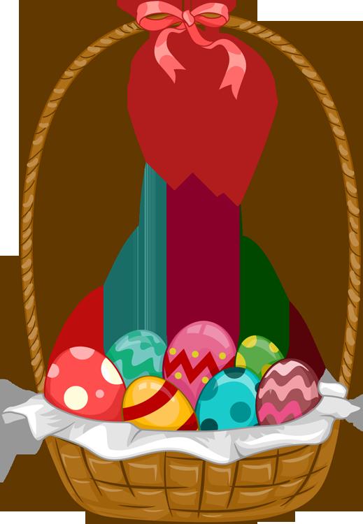 519x750 Easter Basket Clip Art