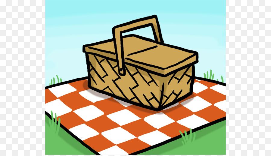 900x520 Picnic Basket Table Clip Art