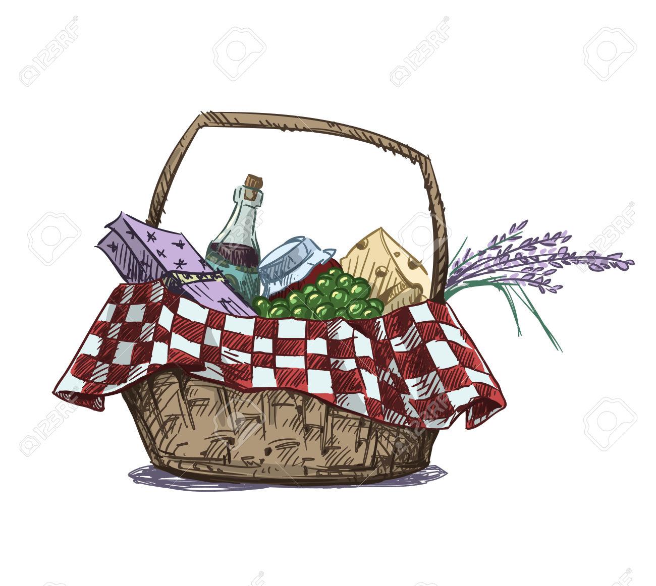 1300x1162 Basket Clip Art