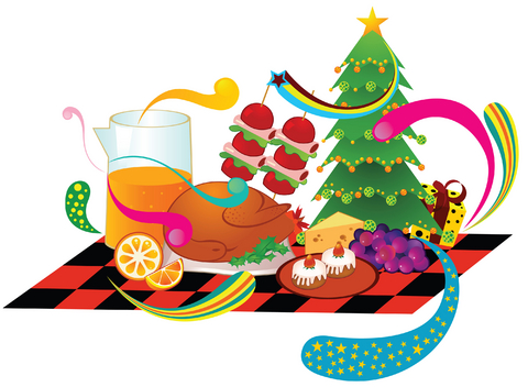 480x352 Collection Of Christmas Food Clipart Images High Quality