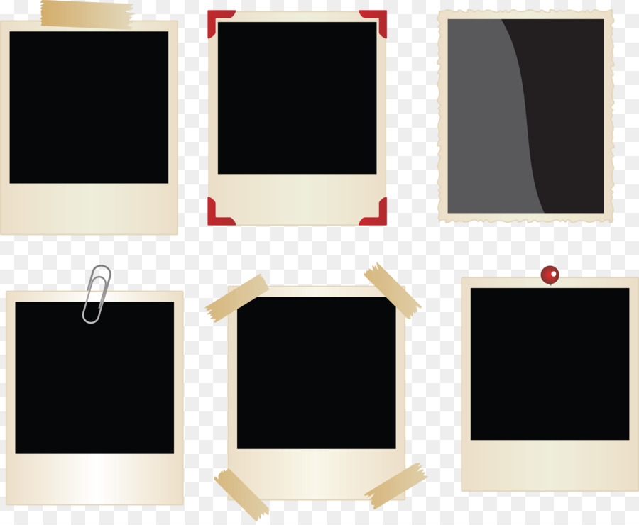 900x740 Picture Frames Polaroid Corporation Clip Art