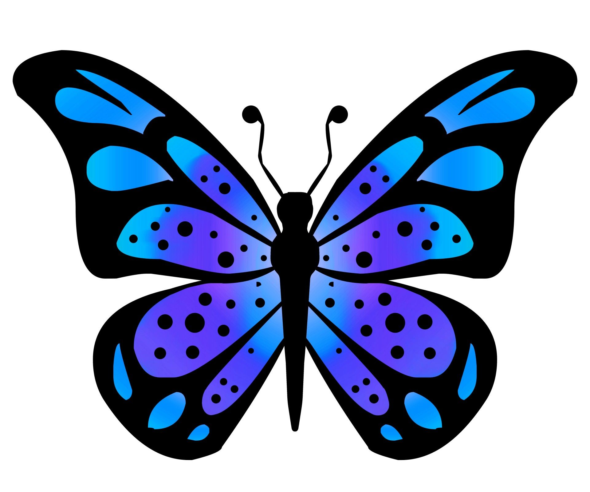 pictures of butterflies clipart at getdrawings com free for rh getdrawings com butterflies clipart small butterfly clipart images