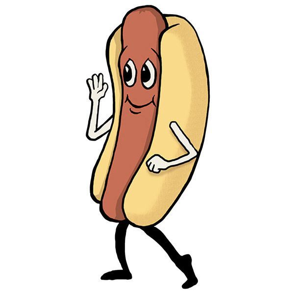 600x600 Hot Dogs Clip Art Clipart Collection