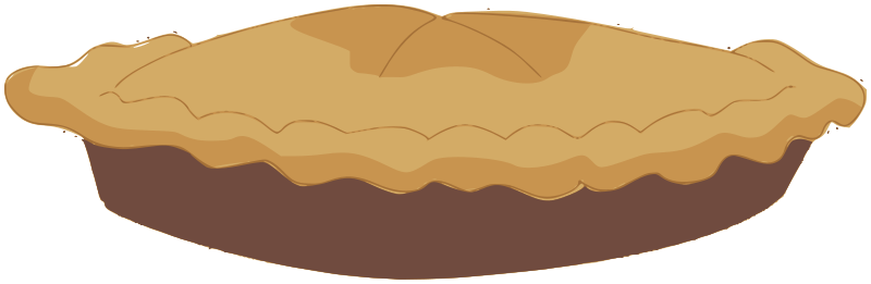 800x261 Apple Pie Clipart