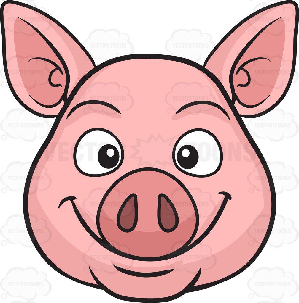 1008x1024 Pig Snout Clipart