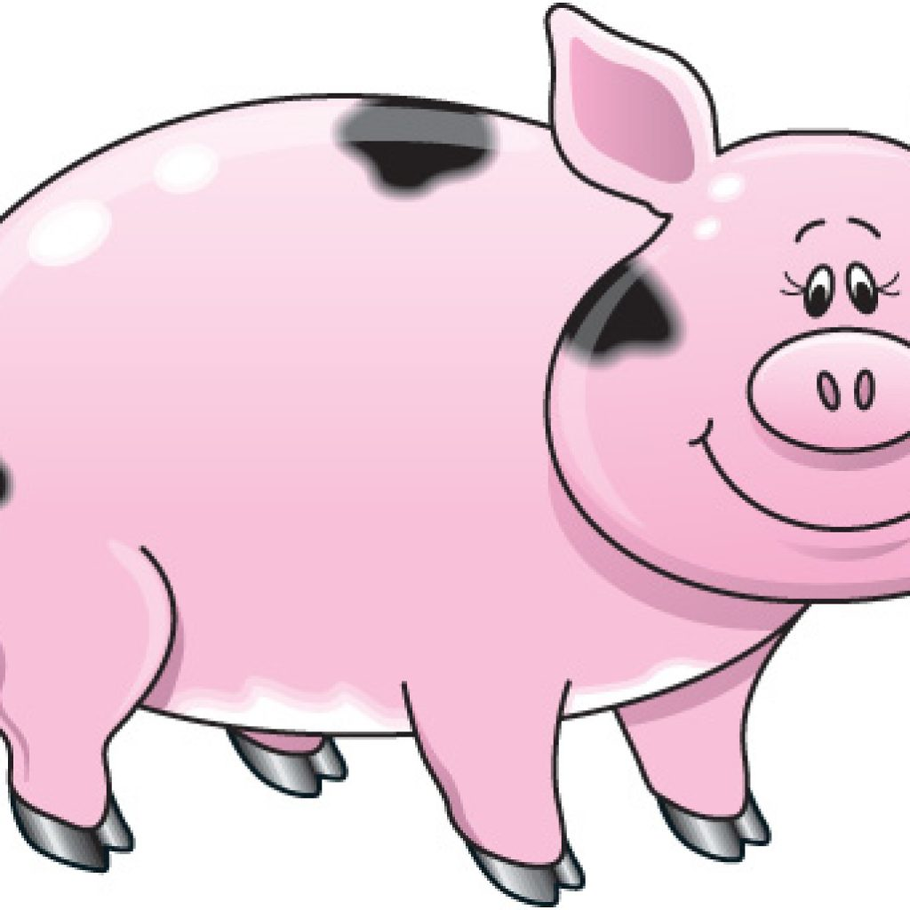 1024x1024 Free Pig Clipart Camping Clipart