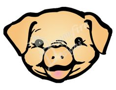 236x183 Pig Face Clipart Free Clip Art Images Draw A Pig