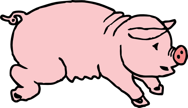 600x346 Piggie Pig Clip Art Free Clipart Panda