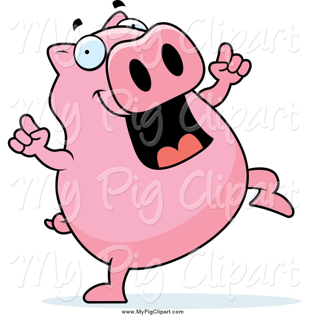 1024x1044 Pink Pig Clipart