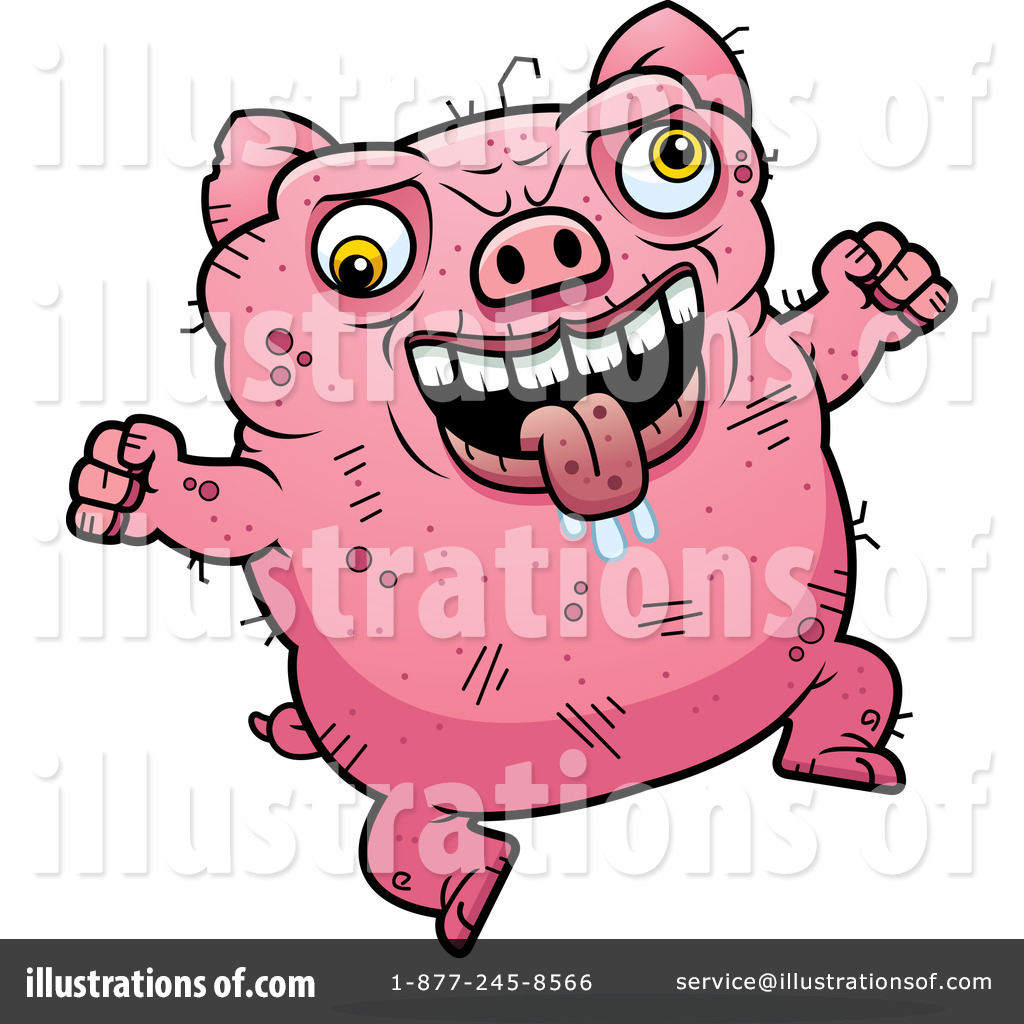 1024x1024 Ugly Pig Clipart