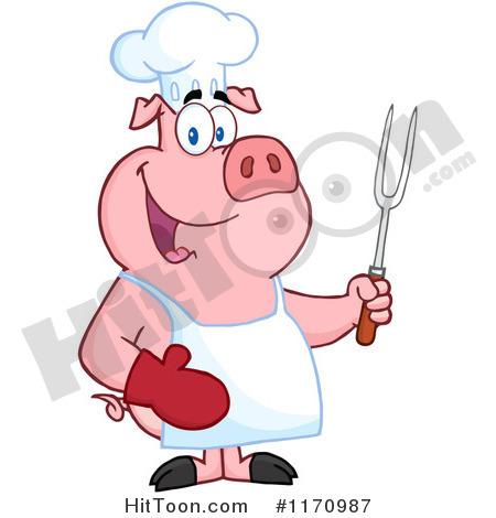 450x470 Free Pig Roast Clip Art Hog Roast Clipart 1
