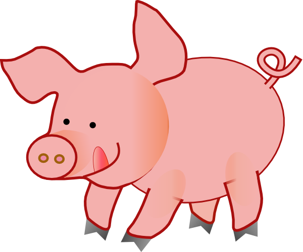 600x500 Pink Pig Clipart Free Pink Pig Download Free Clip Art Free Clip