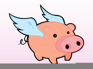 300x224 Cartoon Pigs Clipart Free Images