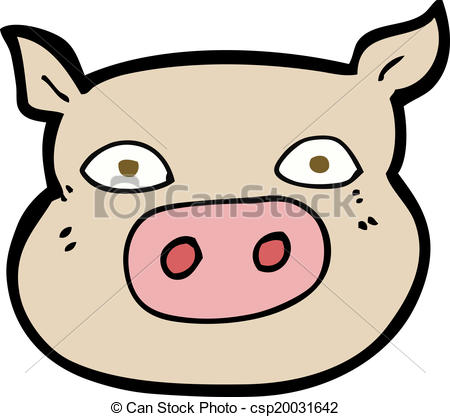 450x417 Cartoon Pig Face Eps Vector