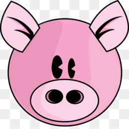 260x260 Domestic Pig Drawing Free Content Clip Art