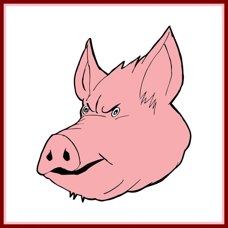 944x944 Fascinating Cute Cartoon Pig Face Clipart Library Clip Art Pict