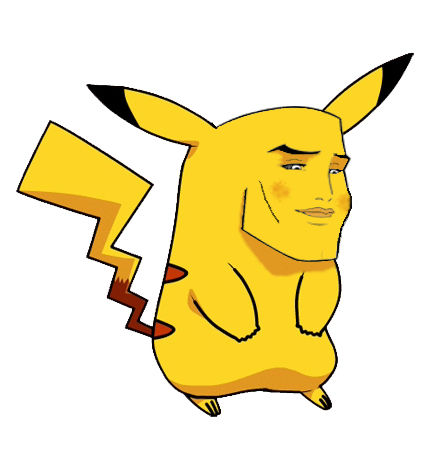 447x459 Pikachu Clipart Line Art