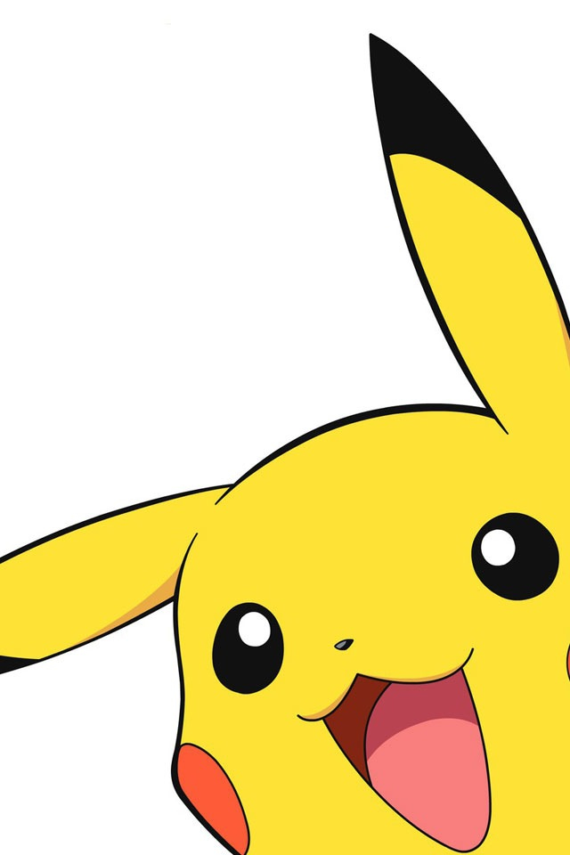 640x960 Pikachu Clipart For Iphone
