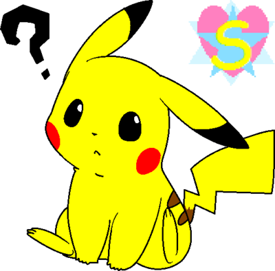 400x394 Pokemon Base 7 Pikachu With A Question By Starlinesparkle896