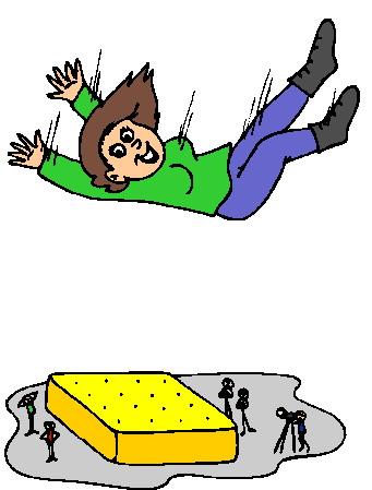 341x449 Falling Clipart