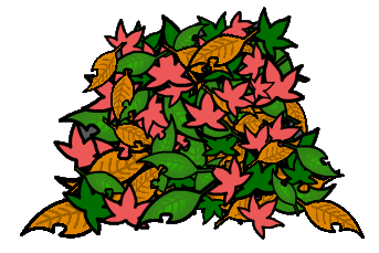 343x229 Object Leaf Pile By Reimu And Cirno