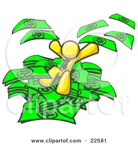 450x470 Pile Of Money Clipart