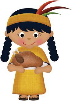236x331 Indian Boy And Pilgrim Boy Thanksgiving Clip Art