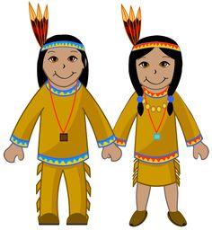 236x256 Indian Girl Amp Pilgrim Girl Thanksgiving Clip Art