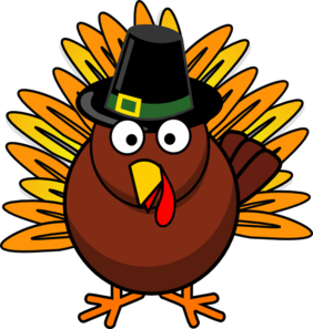 282x297 Thanksgiving Turkey Clip Art