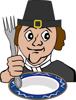 324x425 Free Download Of Hungry Pilgrim Clip Art Vector Graphic