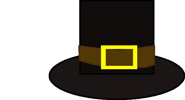 600x325 Pilgrim Hat Clip Art