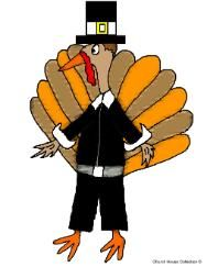 188x243 Thanksgiving Pilgrim Turkey Clip Art Image Picture For Bulletin