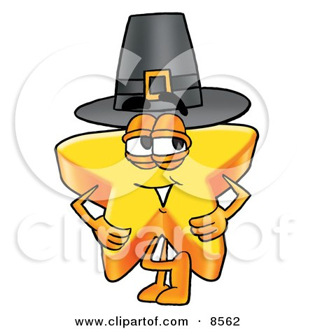 450x470 Clipart Picture Of Star Mascot Cartoon Character Wearing