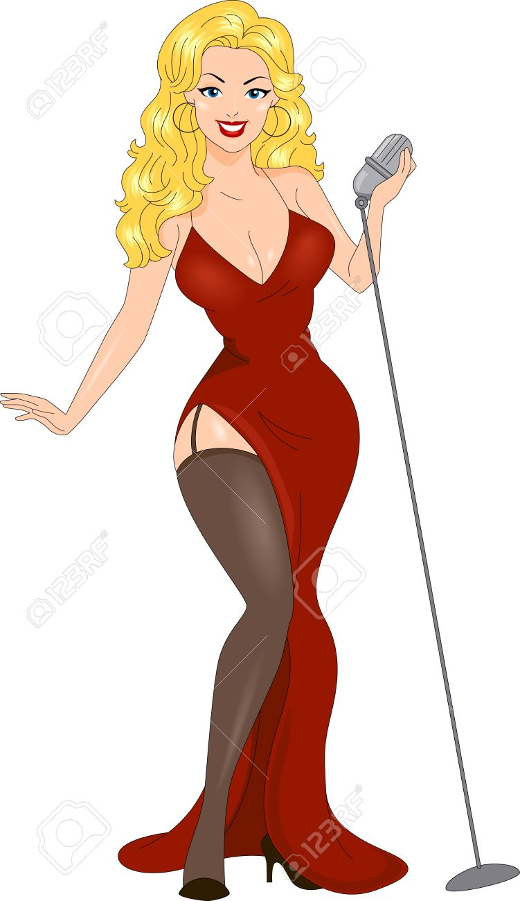 751x1300 Pin Up Girl Clipart Group