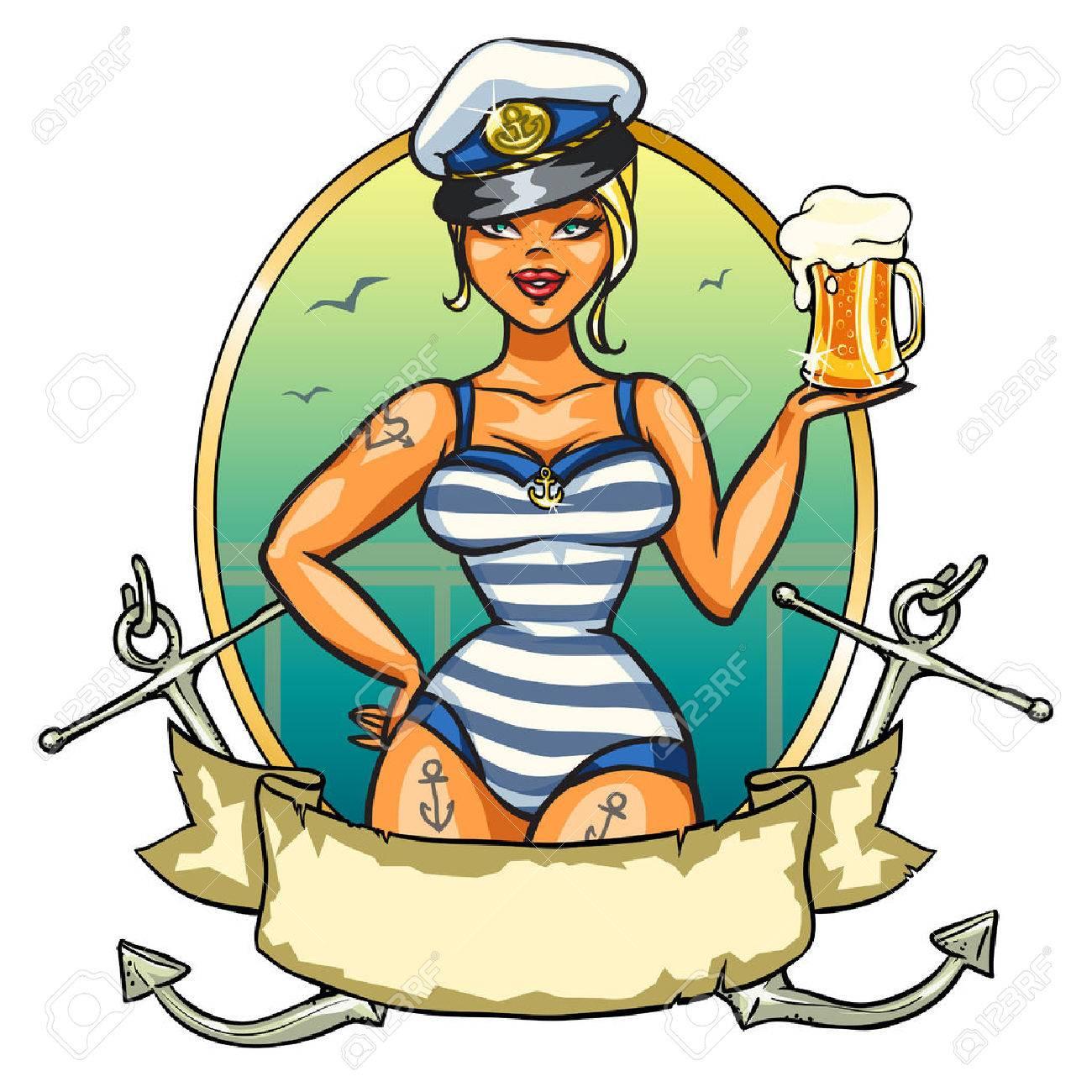 1300x1300 Pin Up Sailor Girl Clipart Amp Pin Up Sailor Girl Clip Art Images