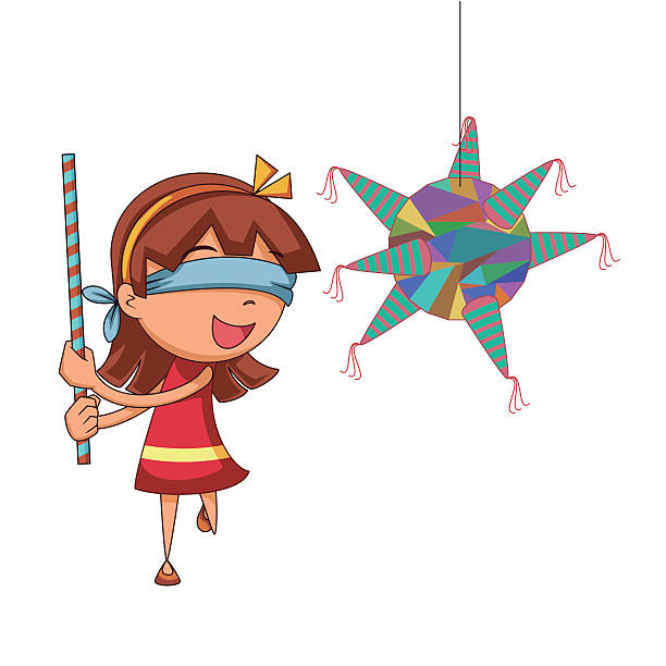612x612 Collection Of Hitting Pinata Clipart High Quality, Free
