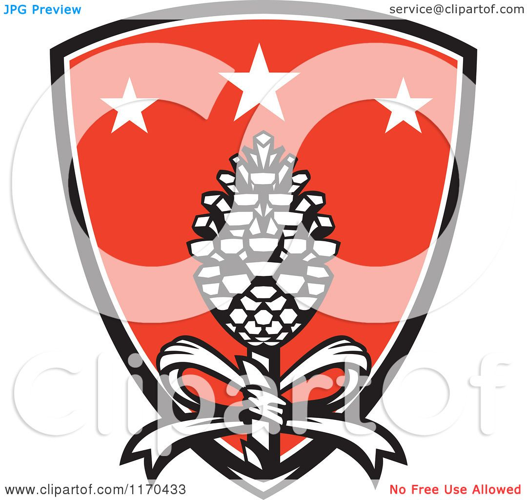 1080x1024 Clipart Of A Thyrsus Pine Cone Staff A Bow Over A Shield