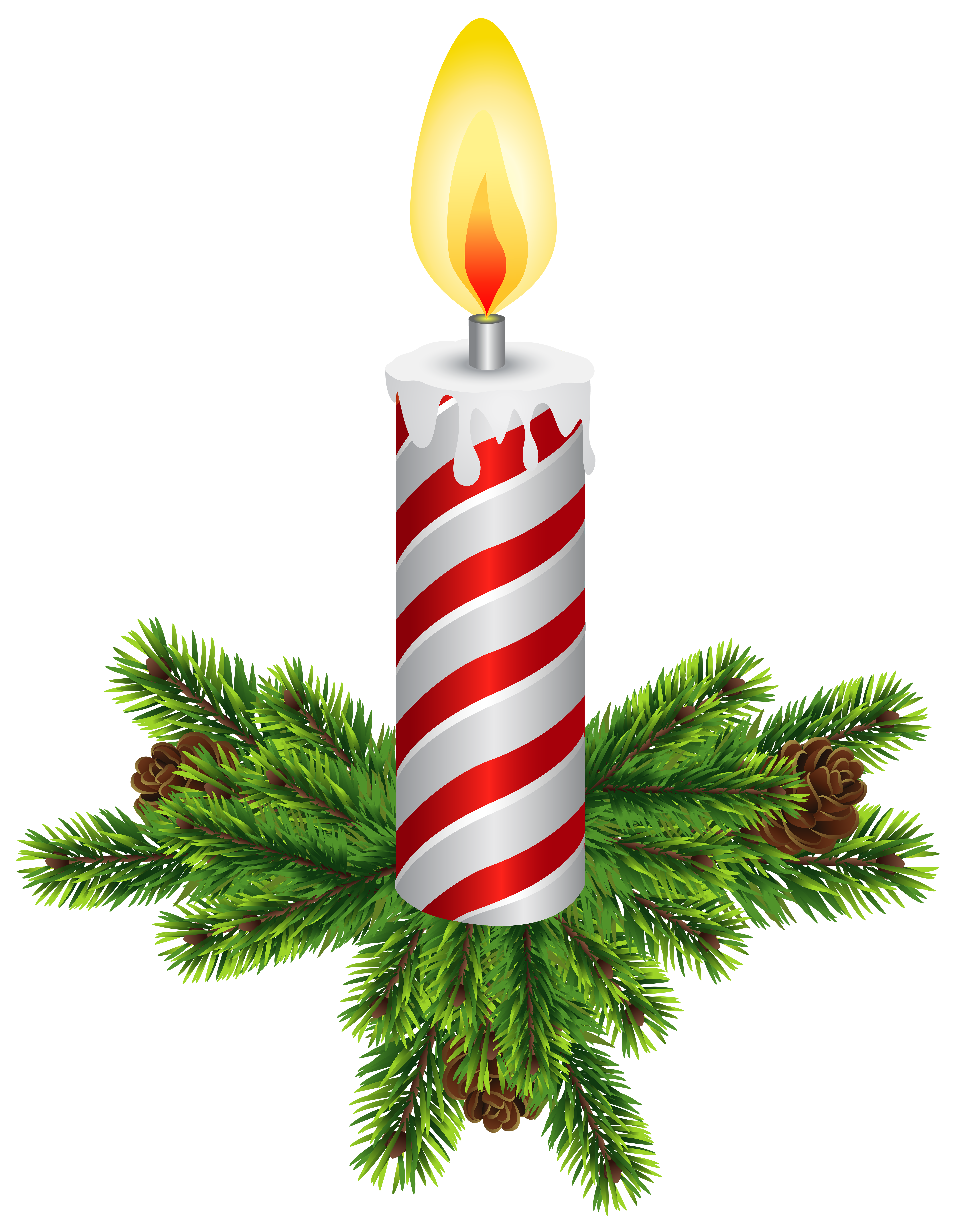 6213x8000 Christmas Candles Transparent Png Clip Artu200b Gallery Yopriceville
