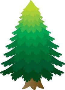 216x300 Pine Tree Clip Art Tree Clip Art Images Tree Stock Photos