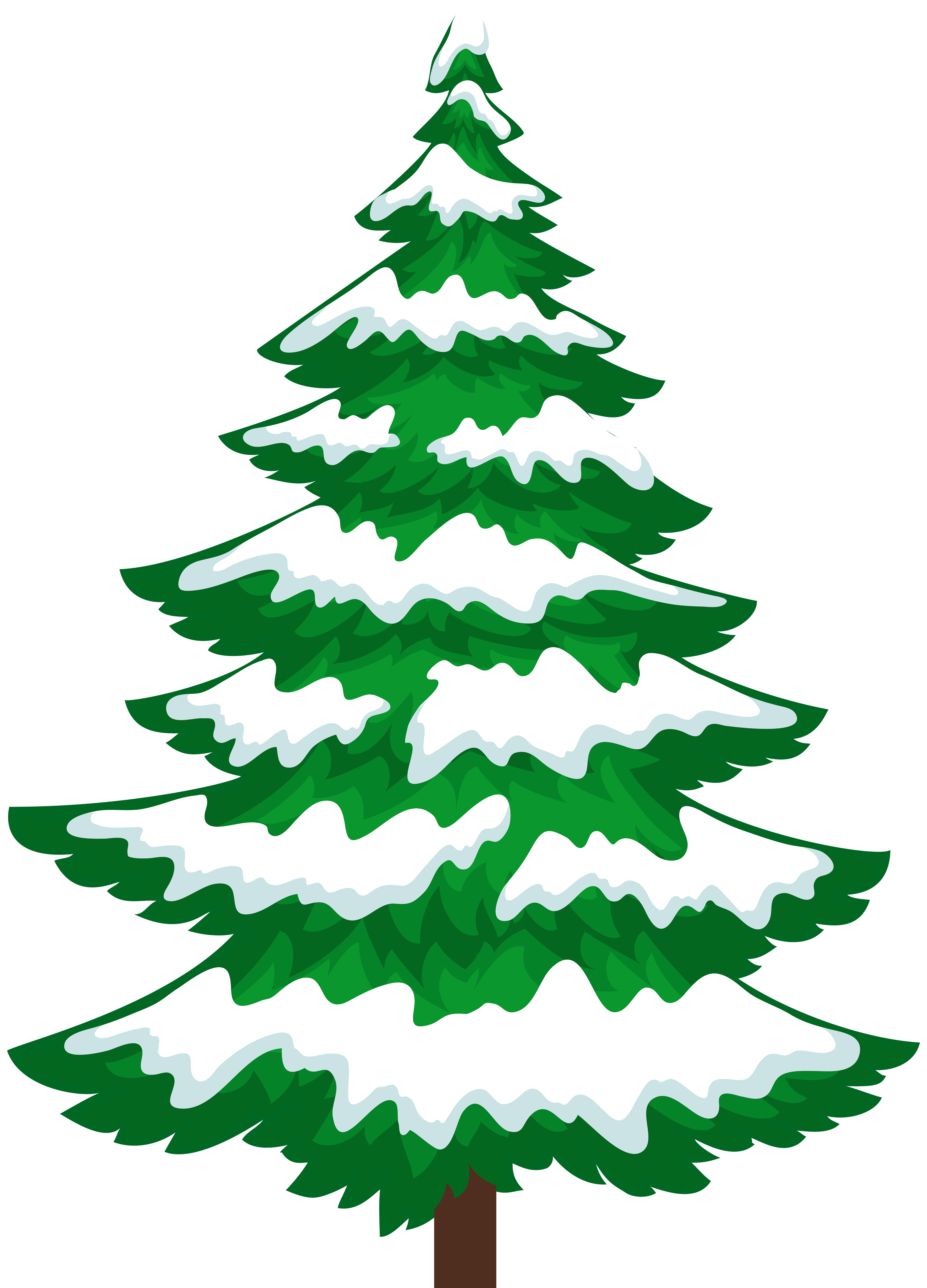 5756x8000 Pine Tree With Snow Transparent Clip Artu200b Gallery Yopriceville